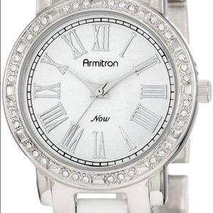 Armitron Now Swarovski Crystal Accented Watch
